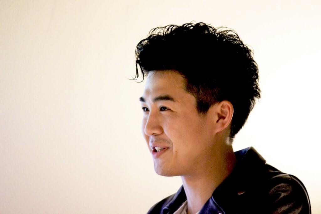 松井、講演の写真