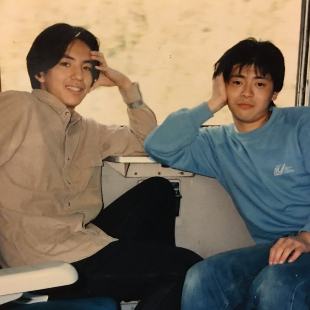 青年期の井上氏