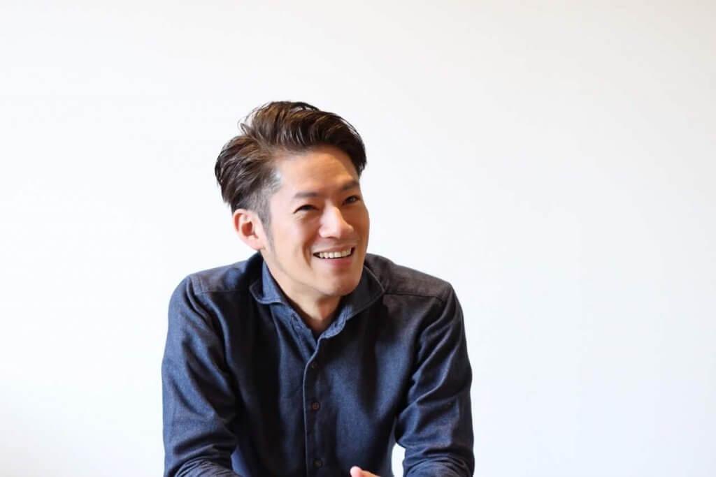阪田氏の笑顔