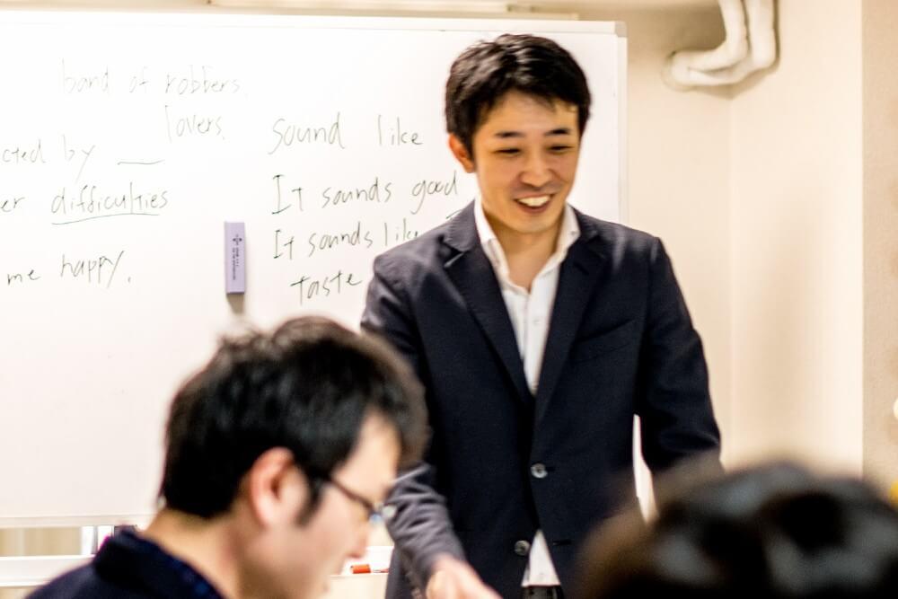 日本人講師レクチャーの様子