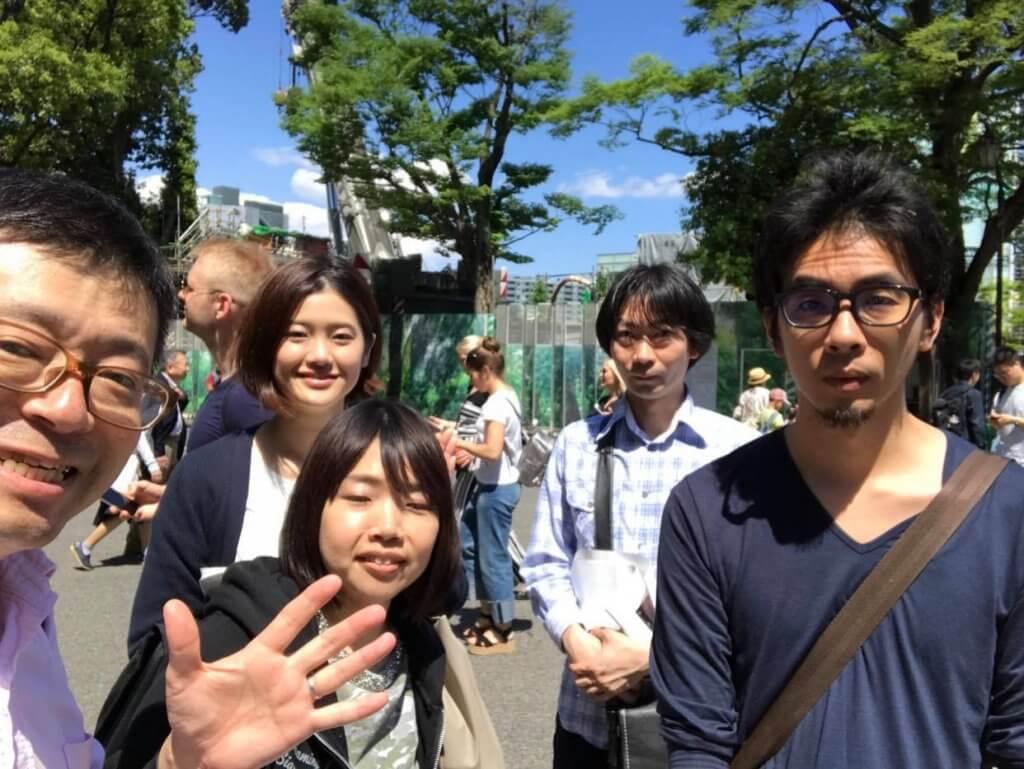 井上さんと友人
